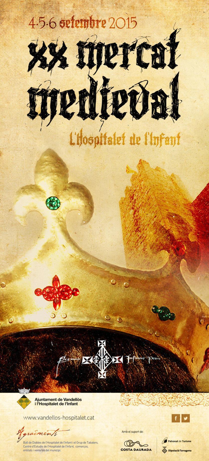 Xx mercado medieval de hospitalet de l 39 infant terres de for Hospitalet del infant