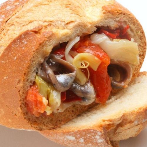 clotxa de les terres de mestral fundació alícia gastronomia arenque pimiento cebolla ajo tomate aceite escalivado escalivat