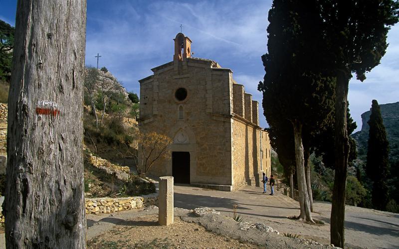 The Saint who Marked Paths, Sant Blai, GR-7 Tivissa