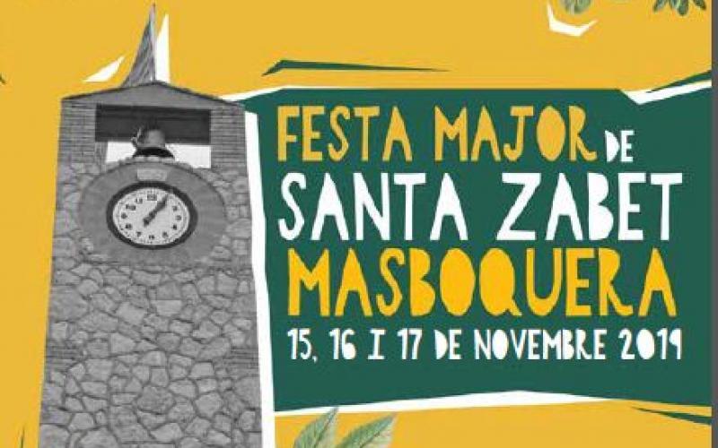 Santa Zabet 2019 Masboquera Festa Major