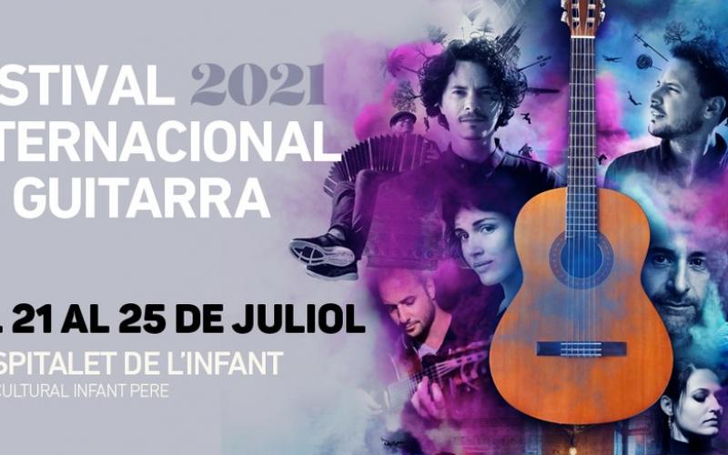 Festival Internacional de Guitarra de l'Hospitalet de l'Infant 2021 Astor Piazzolla