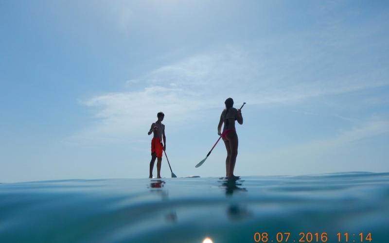 cursos, stand up paddle surf, batig de mar, Hospitalet de l'Infant