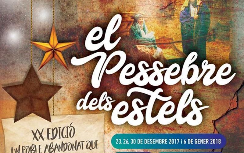 El Pessebre dels Estels 2017 Masia Castelló Vandellòs