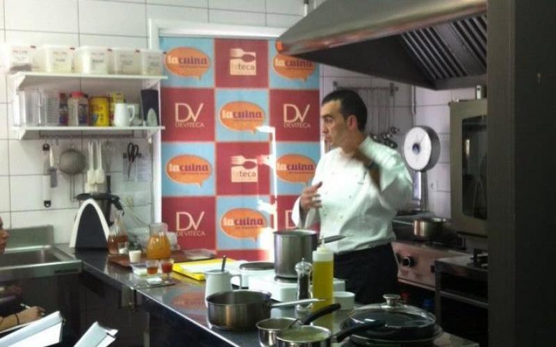 """""""Tardes de cocina"""" - Cocina de verano Showcooking de producto local Deviteca"""