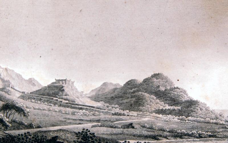 Vistas del Asedio de Tarragona de 1811