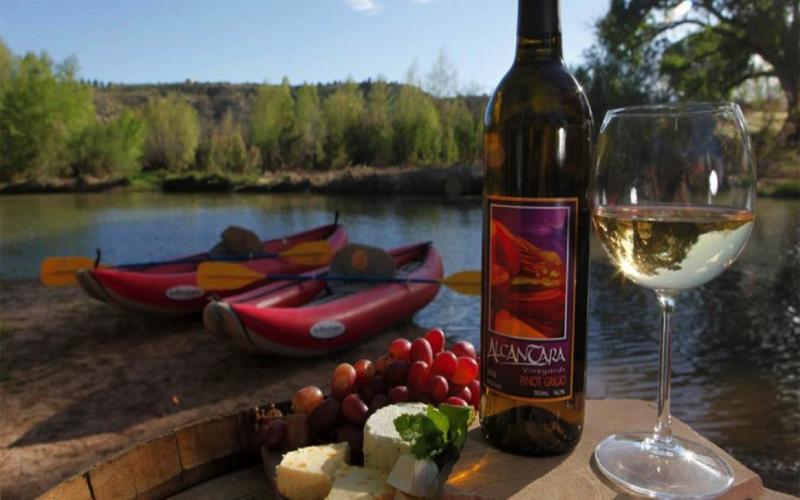 Fin de semana de wine and kayac  Estancia en el camping Tivissa con bungalow