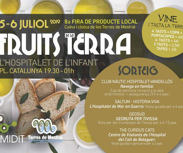 "8a Fira ""Fruits de la Terra"" producte local cuina i clotxa cocina producto local"