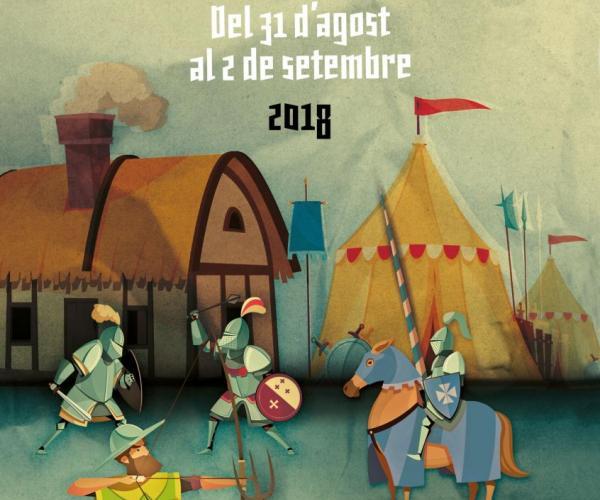 XXIII Mercat Medieval de l'Hospitalet de l'Infant 2018