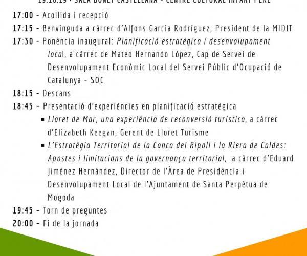 Jornada Tecnica Lloret Turisme Mateo Hernando Santa Perpetua de Mogoda Planificació estratègica