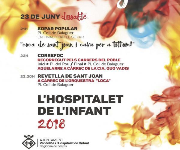 Sant Joan 2018 a Vandellòs i l'Hospitalet de l'Infant Masia Castelló Masboquera