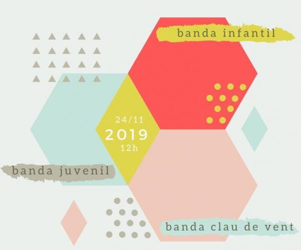 Concert de Santa Cecília Banda Clau de Vent Hospitalet de l'Infant