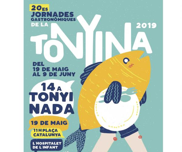 14a Tonyinada, 2019 XX Jornades gastronómiques de la tonyina a l'Hospitalet de l'Infant