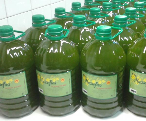 Oli d'oliva verge extra Mussefres