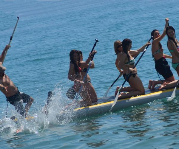 SUP olas, cursos paddle surf, lloguer de material