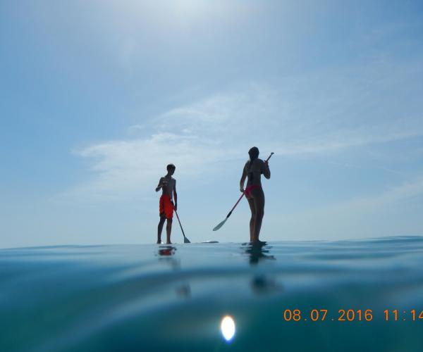 cursos, stand up paddle surf, batig de mar, Hospitalet de l'Infant