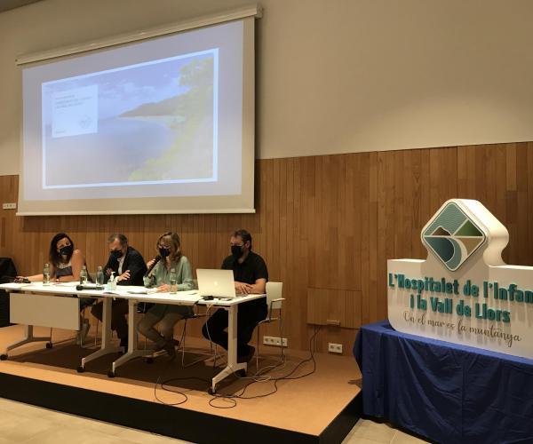 Presentació nova imatge de l'Hospitalet de l'Infant i la Vall de Llors tranqulitat sostenibilitat platja muntanya