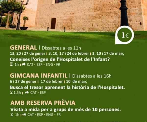 Noves visites guiades a l'hospital gòtic de l'Hospitalet de l'Infant