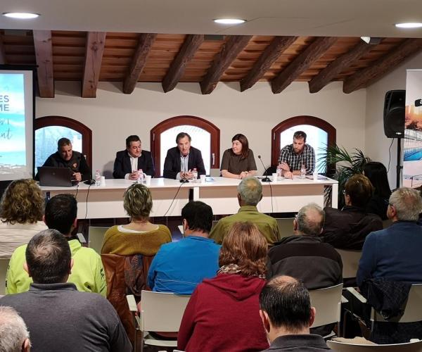 Vandellòs i l'Hospitalet de l'Infant estrena un nou plànol de rutes senderisme trekking muntanya montaña mountain