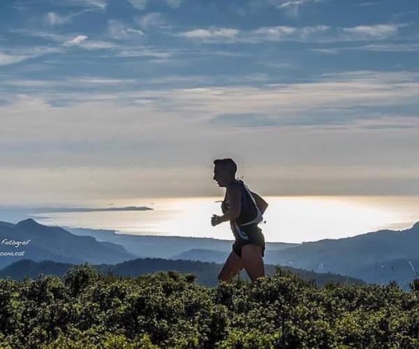 Vandekames cursa de muntanya  mountain race carrera de montaña mar sea hospitalet de l'infant tarragona Jordi Santacana