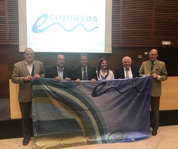 Acte de lliurament dels XII Premis Bandera Ecoplayas 2017