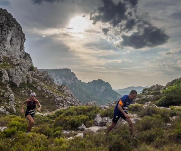 Vandekames cursa de muntanya  mountain race carrera de montaña mar sea hospitalet de l'infant tarragona cursa de muntanya UT Llastres