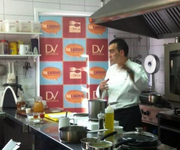 """""""Tardes de cocina"""" – La cocina y el vino Showcooking de producto local Deviteca"""