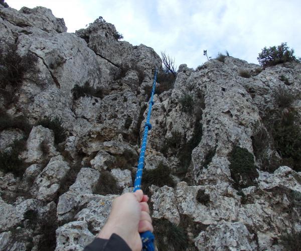 Gegants de pedra senderisme interpretatiu ecoturisme pareds verticals de pedra