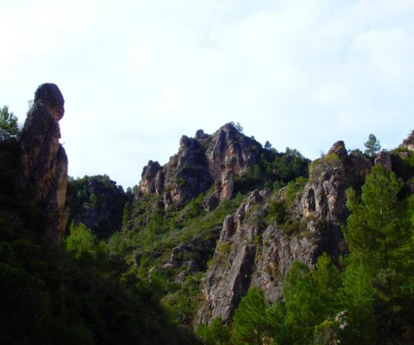 Enchanted mountains Walk through caves and ravines full of legends and optical illusions trekking