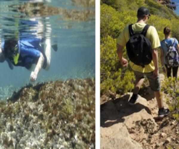 Fin de semana marítimo  Estancia en el camping Tivissa con bungalow   Fin de semana de multi-actividad familiar en el mar