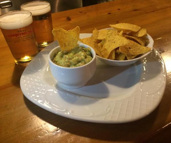 Cervesa i nachos