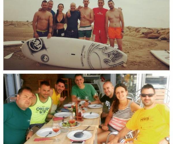 Cafè Irlandés pack de Stand Up Paddle Surf i paella